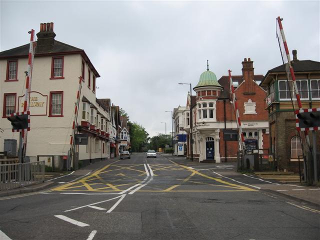 Crawley High Street Level Crossing The Abc Railway Guide