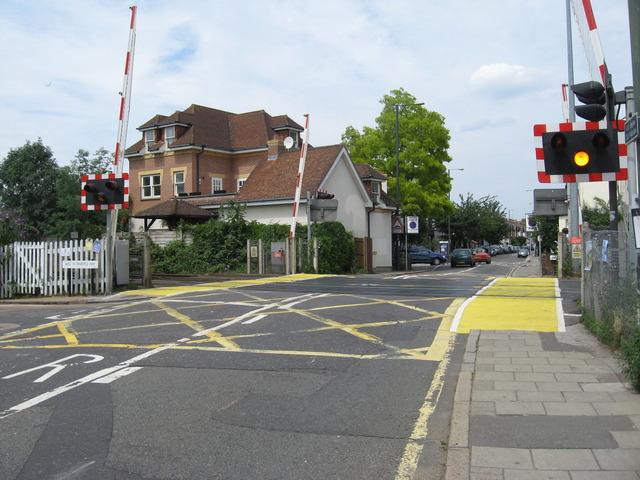 White Hart Lane Level Crossing The Abc Railway Guide