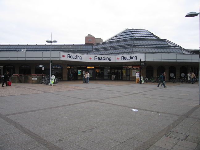 Reading train station concourse